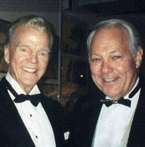 Mort Crim with Paul Harvey